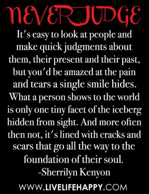 People That Judge Others