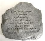Memorial Garden Stone - The Memory of a Good Person is a Blessing
