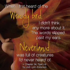 tiger lily book quotes