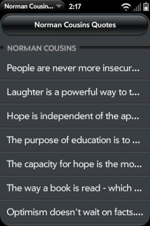 Norman Cousins's quote #1