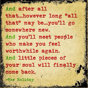 Quote from The Holiday