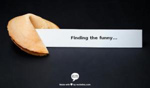 Finding the Joke When Life Isn't Funny