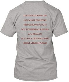 Physical Therapy t-shirt. Love it! (especially #2 and #5 ) More