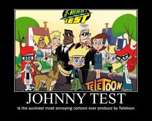 Johnny Test Demotivation by tigerbreath13