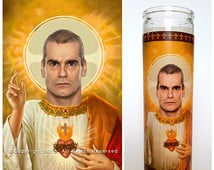 Henry Rollins Prayer Candle. Saint Rollins! Great Gift! 3 Colors ...