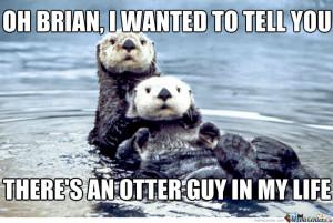 Otter Love Story