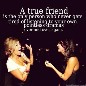 true friend funny quote