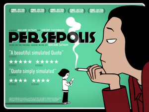 This was not the film poster for Persepolis.(look at all those ...