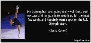 More Sasha Cohen Quotes