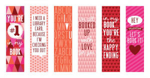 FREE Valentine's Day Bookmark Printables. For more #Valentine Freebies ...
