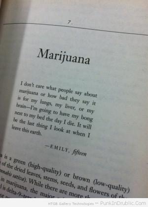 One of the best marijuana quotes.