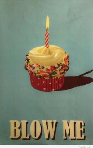 Funny birthday cake cartoon