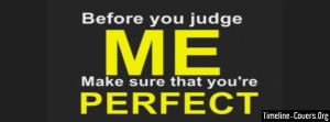 Judgemental Facebook Cover
