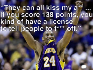 GAME #11: Kobe is asked what people would say if he scored 138 points ...
