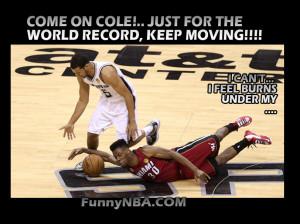 Heat Spurs Finals Game Tony