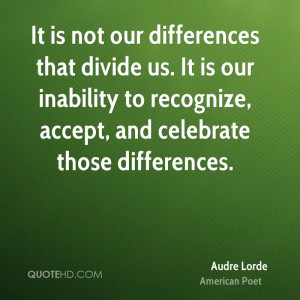 Audre Lorde Quotes
