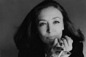 Oriana Fallaci [...] ...se neghi il destino, la vita diventa una serie ...