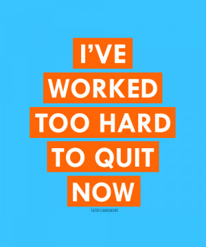 Work Hard Motivational Picture Quote