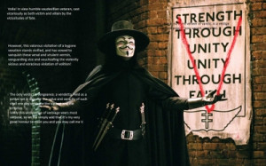 quotes v for vendetta Wallpaper HD