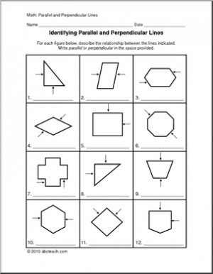 Worksheets Geometry Parallel And Perpendicular Lines Worksheet collection of parallel and perpendicular lines worksheet sharebrowse worksheet