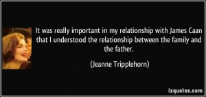 More Jeanne Tripplehorn Quotes
