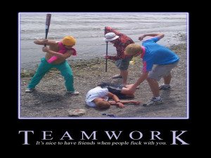 Teamwork Motivational by digitalhigh