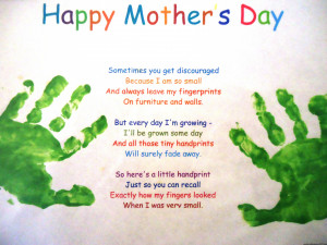 Happy Mothers Day Daughters Poems