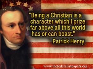 Patrick Henry Christian Poster