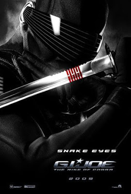 Joe: Rise Of Cobra Snake Eyes Sword Replica
