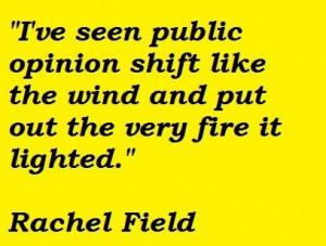 Rachel field famous quotes 5