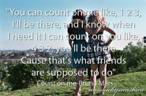 best friends, bruno mars, count, dress, girl, girls, grass, hill ...