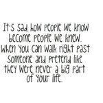 Sad Quote: How People We Know…