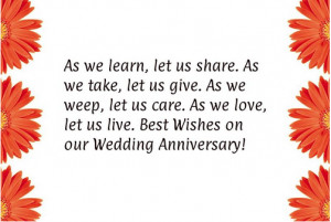 wedding anniversary cards wishes and quotes for husband and wife