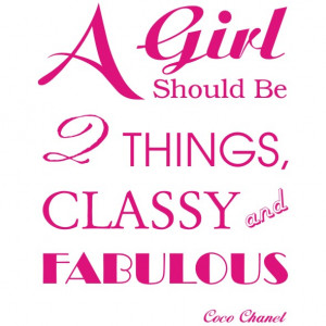 Quotes About Classy Girls