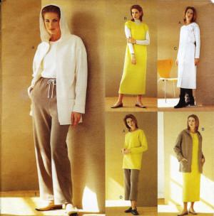Vogue Five Easy Pieces Pattern 2395 Misses/Misses Petite Jacket, Dress ...