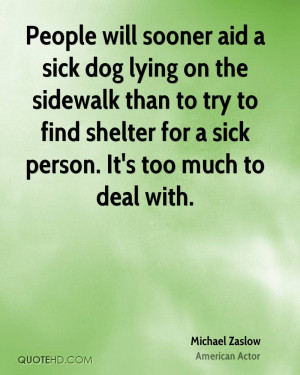 Sick Dog Lying On The Sidewalk Than To Try To Find Shelter For A Sick ...