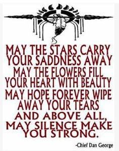 To all those grieving know that your tears will cleanse your soul and ...