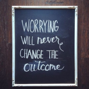 Don't worry in Quotes & other things