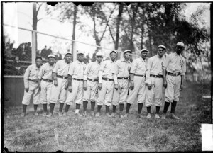 Negro National League's Chicago American Giants baseball team players ...