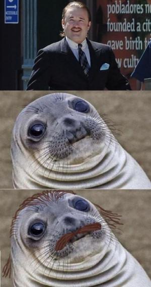 funny-Haley-Joel-Osment-awkward-moment-seal