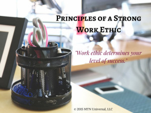 Principles of a Strong Work Ethic (1)