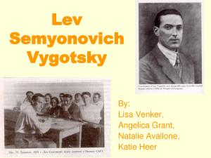 Lev Vygotsky Theory