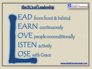 Pictures of Leadership Training Statement Of Work