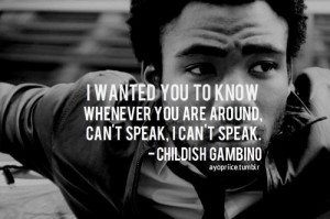 childish gambino quotes | Tumblr New Hip Hop Beats Uploaded EVERY ...
