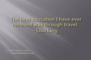 ... Lisa Ling #Inspirationaleducationquotes #