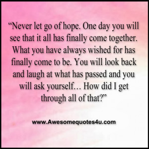 Never Let go Quotes Never Let go Quotes
