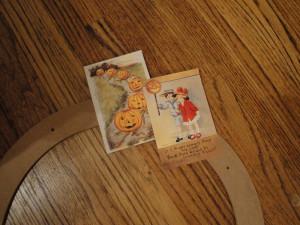 romantic Halloween cards
