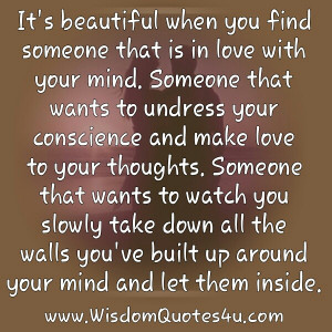 That sounds romantic until you find out what a person is really ...