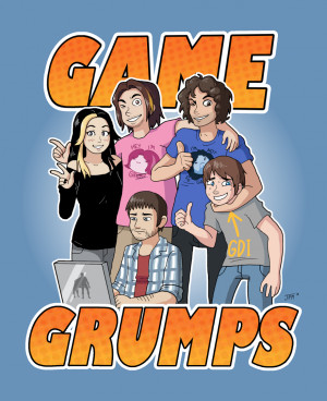 My art egoraptor game grumps Arin Hanson Barry Kramer Rubberross ...