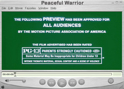 Peaceful Warrior Trailer Quotes Journey Cached Picture